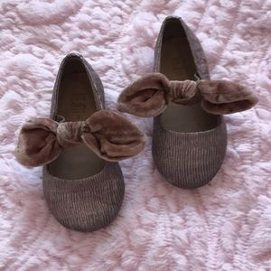 Zara Baby Bow ballerinas